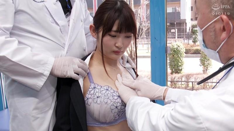 マジックミラー号旬菜巨乳就活女子大生に無料健康診断!性感帯を刺激してヤル