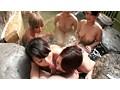 巨乳女ばかりの混浴温泉に男性客はボク一人 15