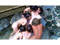 巨乳女ばかりの混浴温泉に男性客はボク一人 16