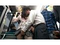 満たされない若妻のムッチり尻が満員路線バスで勃起ペニスに密着出逢い以上のスリルを求めて腰を振る 17