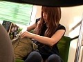 某ローカル線で狙い撮りした素人美人の三角パンチラ 危険度100%!!バレたら通報のドキドキ盗撮…!! 4