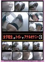 「女子校生がトイレでアナルオナニー 3」のパッケージ画像