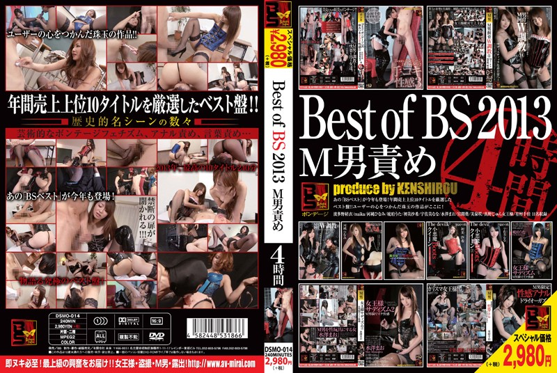 [DSMO-014] Best of BS 2013 M男責め 4時間