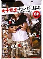 「女子校生ナンパ乳揉み」のパッケージ画像
