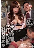 「美人秘書 怒りのM男社員責め 3 藤崎クロエ」のパッケージ画像