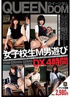 「女子校生M男遊び DX4時間」のパッケージ画像