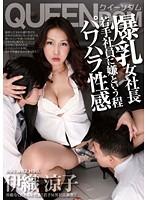 「爆乳女社長 若手社員に嫌という程パワハラ性感 伊織涼子」のパッケージ画像