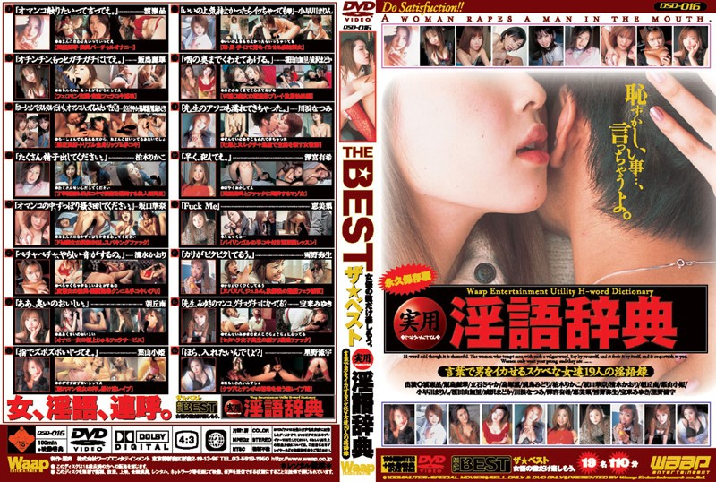 (2dsd00016)[DSD-016] THE BEST 実用淫語辞典 ダウンロード