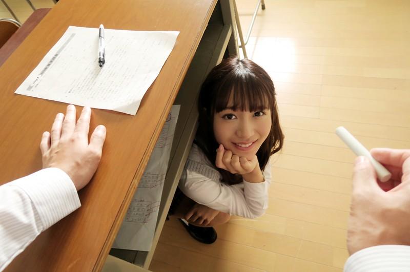 【VR】学級崩壊クラスで授業中…イタズラ制服美少女と声ガマン性交…でも教室で生はマズくない? 星奈あい-2