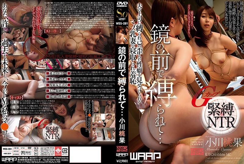 泥酔の人妻、小川桃果出演の縛り無料熟女動画像。鏡の前で縛られて… 小川桃果