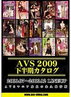 AVS2009下半期カタログ