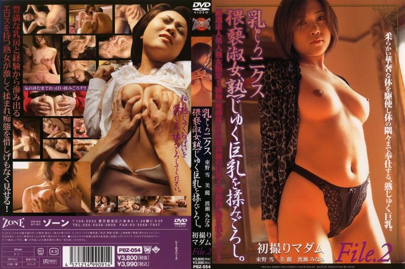 乳とろニクス 猥褻淑女、熟じゅく巨乳を揉みごろし。 初撮りマダムFile.2