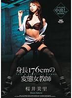 「身長176cmの変態女教師 桜井美里」のパッケージ画像
