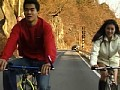 [TQ-006] ミニスカ・サイクリング くい込めサドル美人