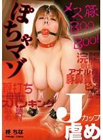 「ぽちゃマゾ Jカップ虐め 柊ちな」のパッケージ画像