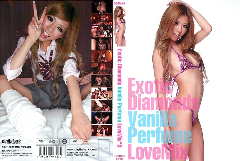 Exotic Diamonds Vanilla Perfume Love Mix*5