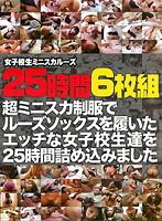 「女子校生ミニスカルーズ 25時間」のパッケージ画像