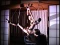 非道アイスピック 吊るされ女 火炎と針と吹き矢責め 9