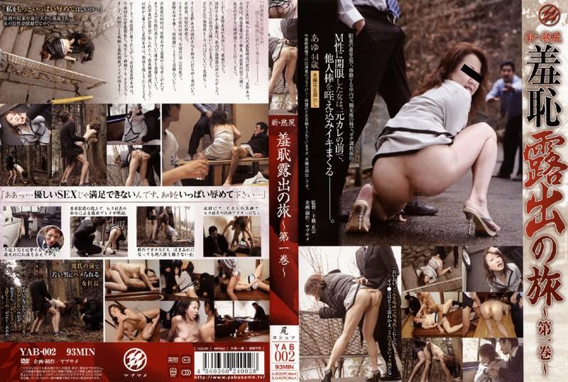 野外にて、女社長の奴隷無料熟女動画像。新・熟尻 羞恥露出の旅 第一巻
