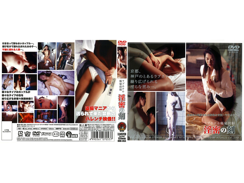 [BVD-053] ラブホテル極密投稿 淫密の刻