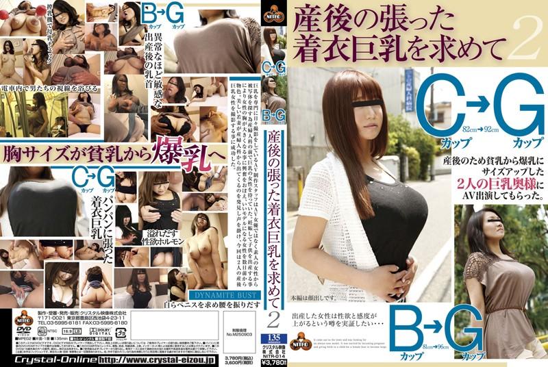バスにて、巨乳の人妻、中島美和出演のパイズリ無料熟女動画像。産後の張った着衣巨乳を求めて 2 Bカップ→Gカップ Cカップ→Gカップ