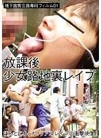 地下鑑賞会員専用フィルム 01・放課後少女路地裏レイプ ダウンロード