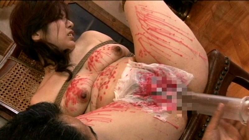 人妻浣腸悦虐 上原ともみ の画像15