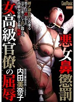「悪女鼻懲罰 女高級官僚の屈辱 内田美奈子」のパッケージ画像