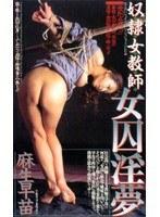 「奴隷女教師 女囚淫夢 麻生早苗」のパッケージ画像