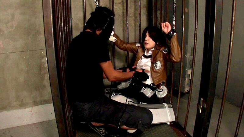 美少女剣士ミ○サ×淫語2穴凌辱×連続アナル中出しファック りょう