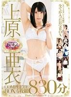 「上原亜衣 COMPLETE BOX 830分」のパッケージ画像