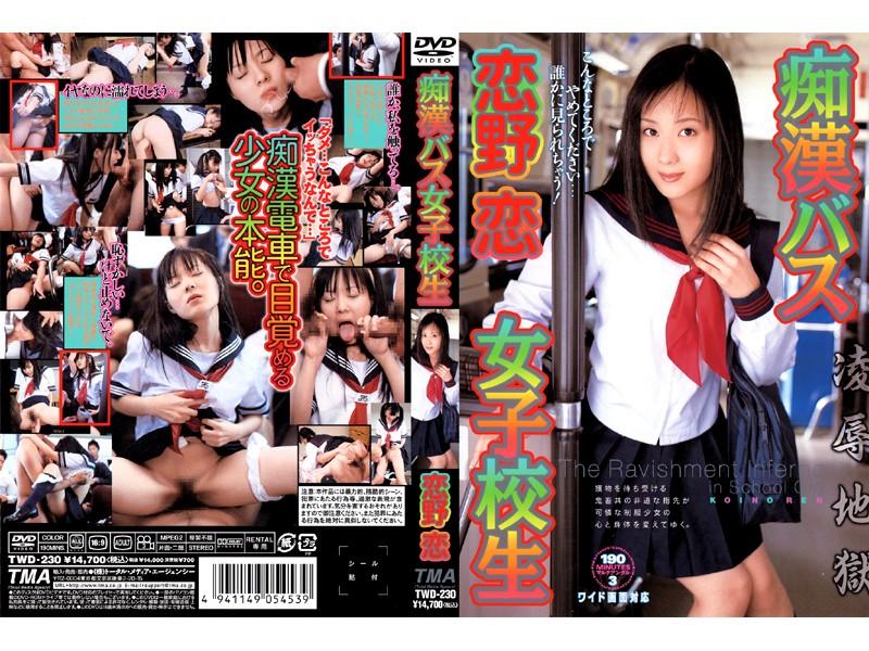 TMA 痴 漢バス女子校生 恋野恋