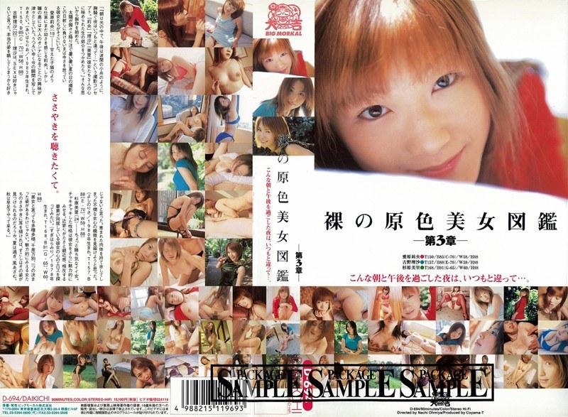 裸の原色美女図鑑 第3章
