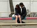 公園のベンチでスカートの脇の切れ目に手を入れて電マするのが最高! 21