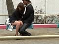 公園のベンチでスカートの脇の切れ目に手を入れて電マするのが最高! 24