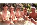 彼氏がいない可愛いニューハーフがメンズを争奪する混浴合コン!!恥らい女子とサオ釣りNHの温泉ガチンコバトル! 1