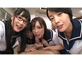 ビクンビクン脈打つオチ●ポが大好きな美女達による口淫ピストン祭り! 画像12
