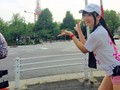 [AVOP-264] やんひびが走るってよ AV女優はフルマラソン(42.195km)走り終わった後、何回騎乗位出来るのか検証!!