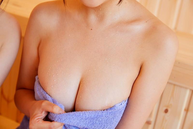 【エロVR】温泉サークルで美女2人と混浴サウナ→理性を失い乱交セックス