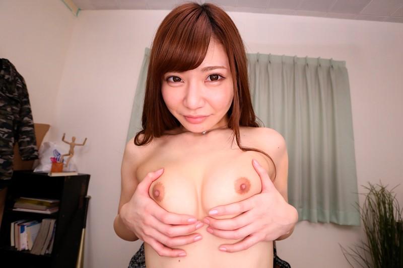 """【エロVR】人気No.1デリヘル嬢""""楓まい""""と密着ラブラブ本番セックス"""
