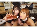 【VR】舐めプレイ×バイノーラル×バニーガールカフェへようこそ 美谷朱里・花咲いあん 画像6