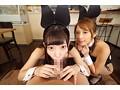 【VR】舐めプレイ×バイノーラル×バニーガールカフェへようこそ 美谷朱里・花咲いあん 画像8