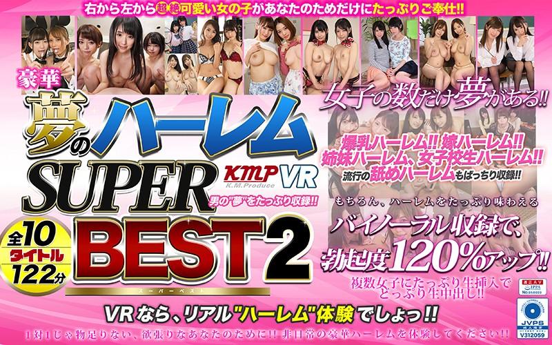 【VR】豪華 夢のハーレム SUPER BEST 2!! パッケージ画像