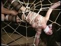 人妻野外浣腸 蜘蛛の巣拘束アナル責め 20