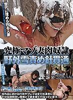 究極マゾ妻肉奴隷 野外雪責め針貫通 ダウンロード