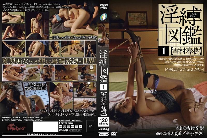 人妻、横山夏希出演の緊縛無料熟女動画像。淫縛図鑑 1 雪村春樹