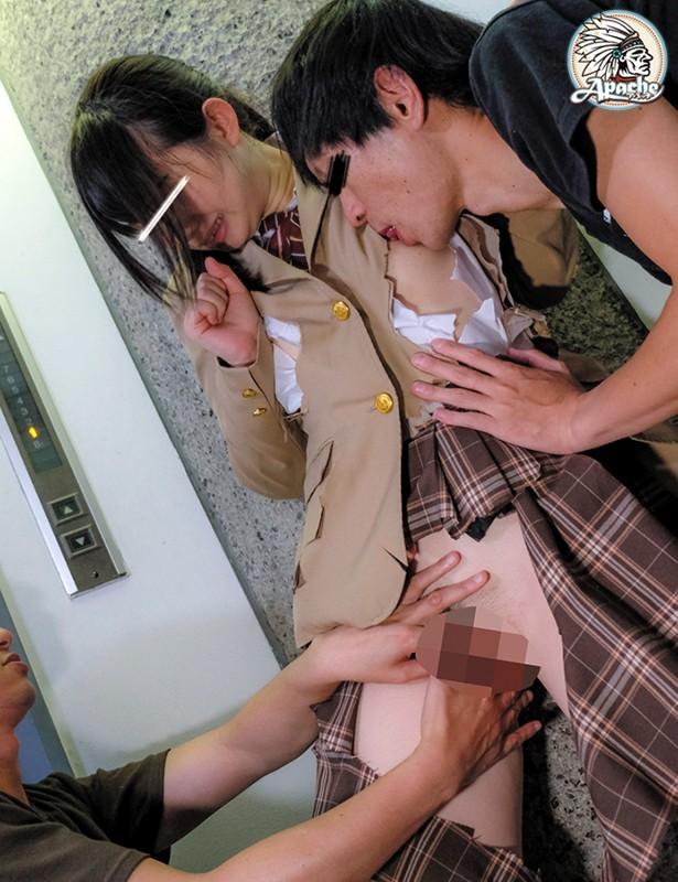 学習塾エレベーター制服切り裂き痴漢 の画像10