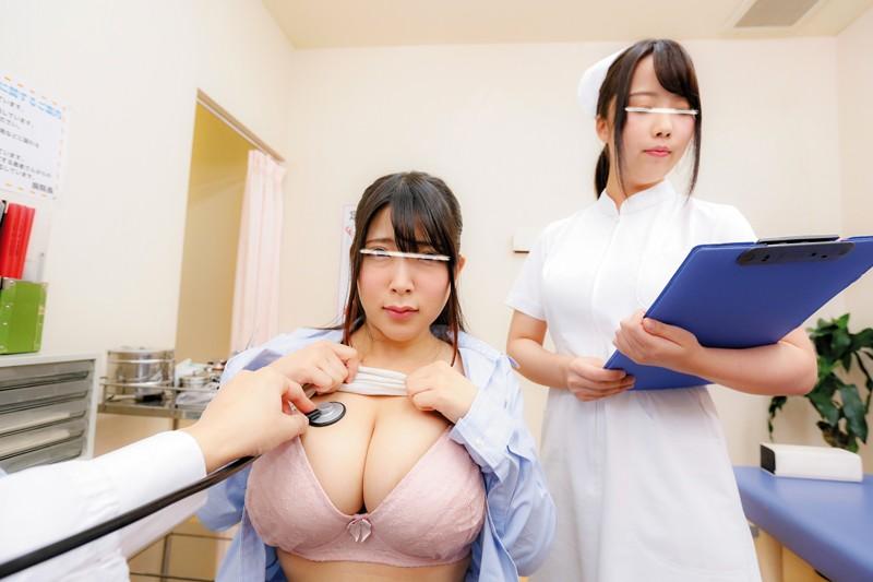 【エロVR】美人ナースと手を組んで患者にセクハラ放題の変態クリニック