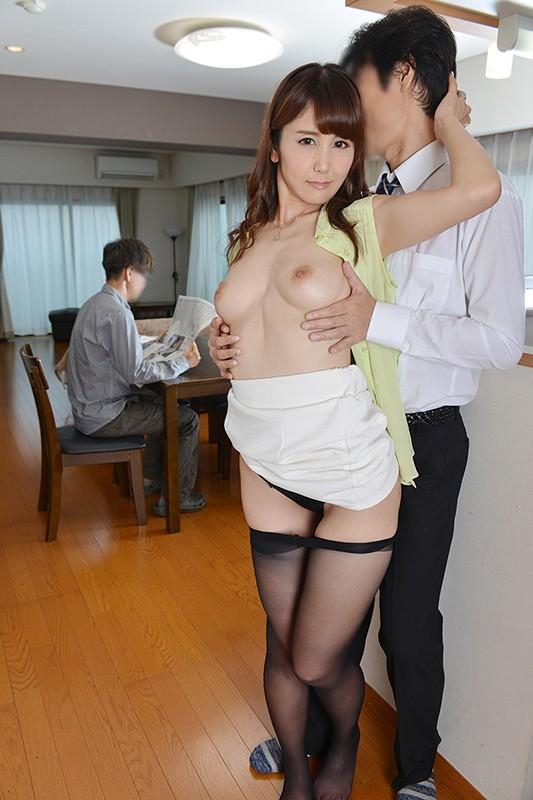 うちの妻が寝取られました。 昇進のために上司に妻を寝取らせたら発情しすぎて上司の中出しペットになってしまいました 池田咲 の画像20