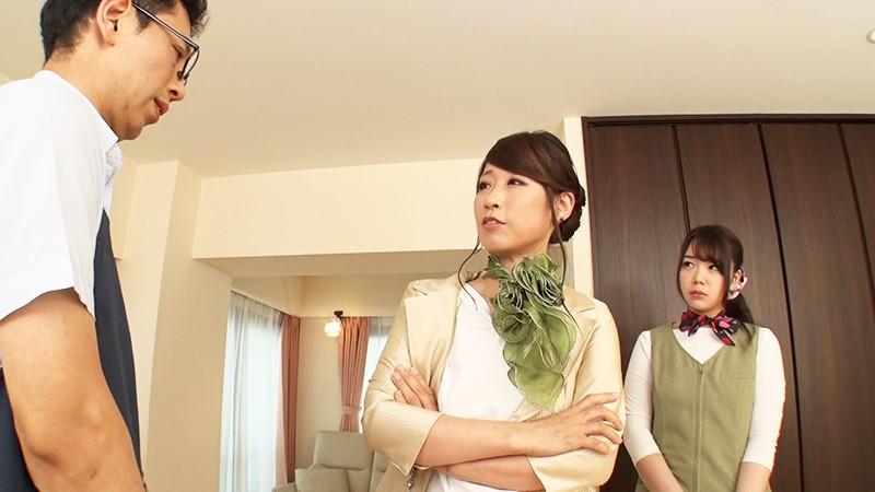 女上司にディープキス強要されながら可愛い部下に優しくフェラチオされ続ける。
